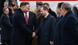 Порошенко начал встречу с президентом Польши в Харькове