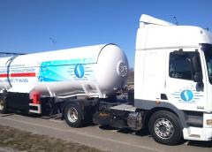 Наземный способ транспортировки газа