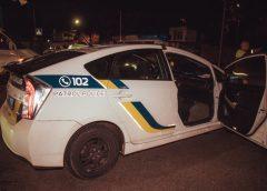 В Киеве водитель Volkswagen устроил ДТП, пытаясь проскочить на «красный»