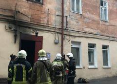 В Одессе вспыхнул жилой дом: из здания эвакуировали 15 человек